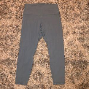 Lululemon blue '25 inseam align leggings
